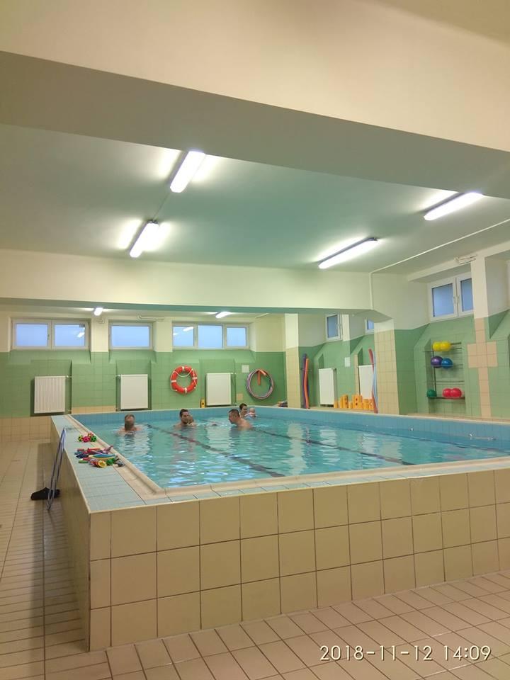 Zajęcia na basenie metodą Hallwick